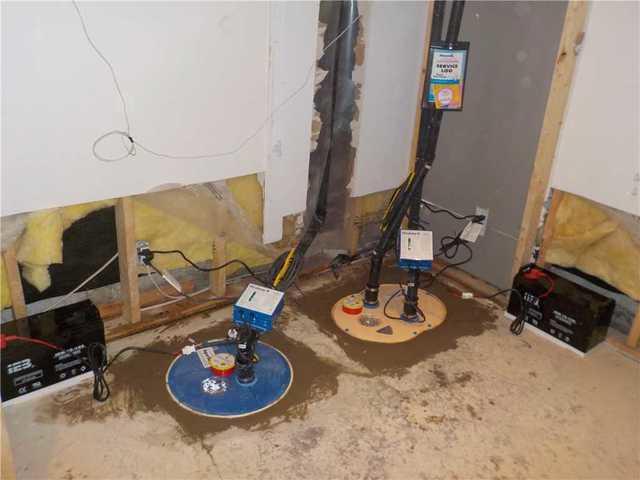 Deux systèmes de pompes de puisard installés à Gatineau - After Photo