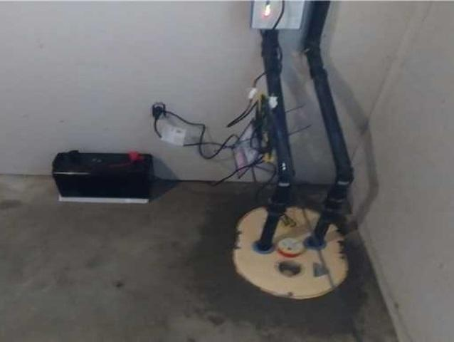 A TripleSafe sump pump system in Sorel-Tracy