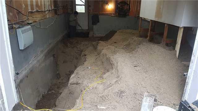 Stabilisation de fondations par l'intérieur à Notre-Dame-de-l'Île-Perrot