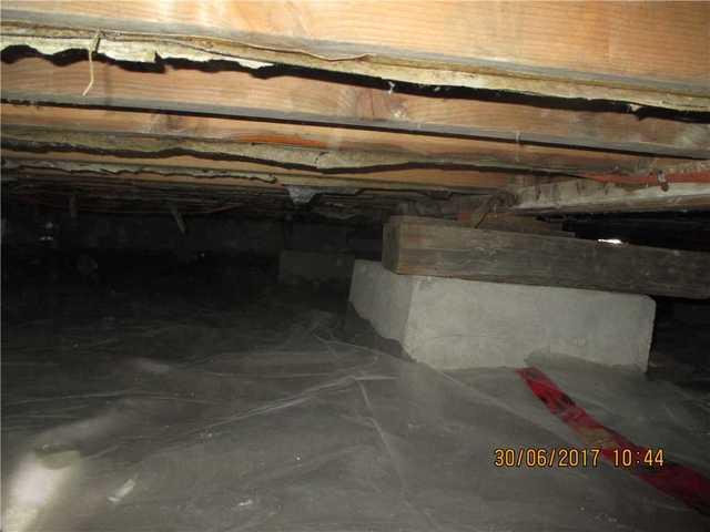 Stabilization of a crawl space in Saint-Anicet