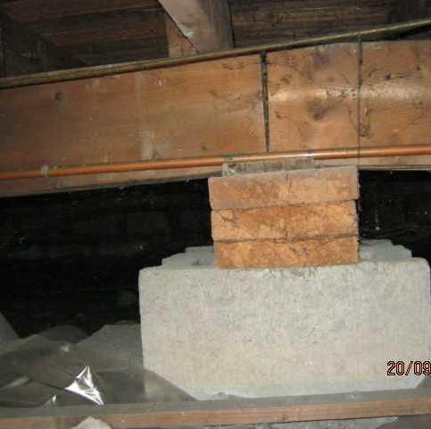 Foundation repair in Saint-hubert, Qc