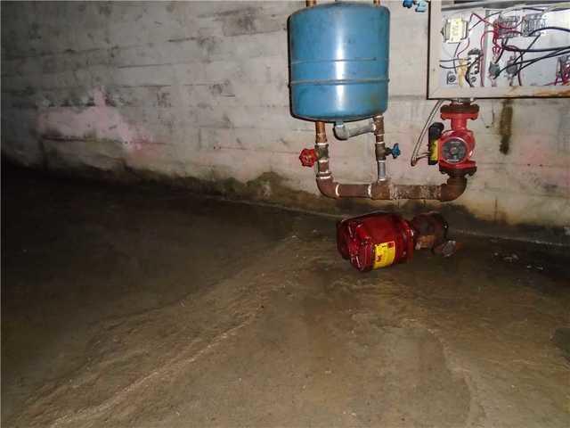 Basement waterproofing system in Saint-Isidore-de-Laprairie