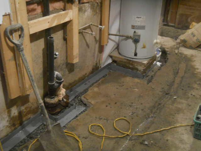 Waterproofing a basement in Outremont, QC