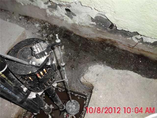 SuperSump pump installed in Outremont, QC
