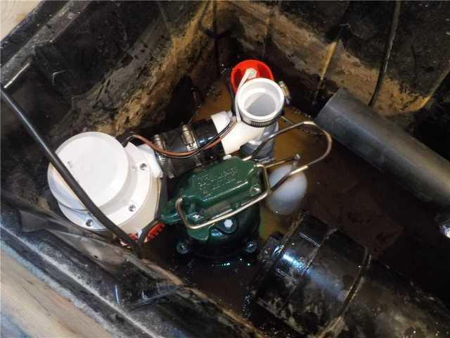 Ajout d'une pompe à batterie UltraSump à Carignan, Qc - After Photo