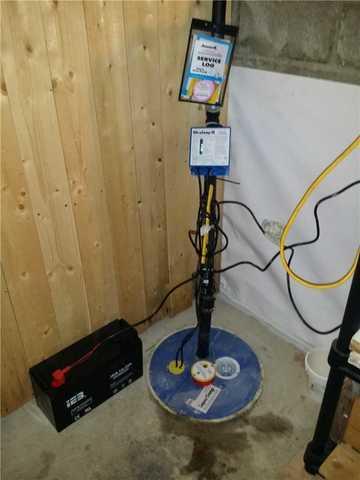 Imperméabilisation d'un sous-sol à humide à Knowlton - After Photo