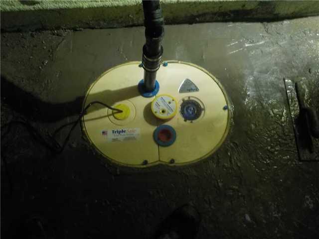Une nouvelle pompe de puisard à Stukely, Qc.