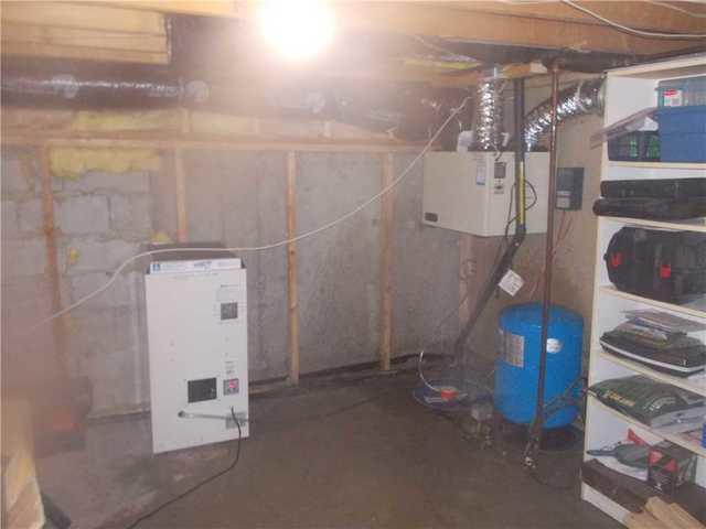 Eliminating moisture in a Richelieu basement