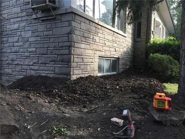 Pieutage et stabilisation de fondations à Hampstead, Qc