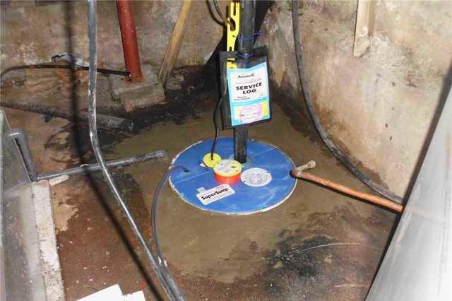Waterproofing a basement in Hemmingford, Qc