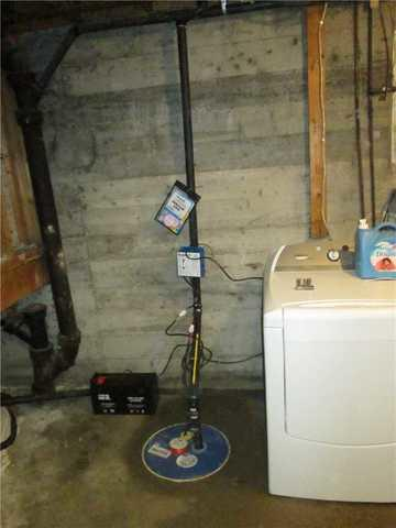 Change of sump pump in Roxboro, Qc