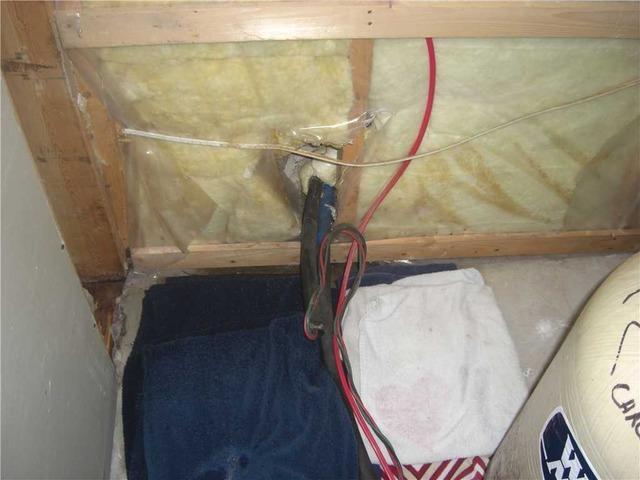 Imperméabilisation d'un sous-sol grâce à la SmartSump à Prévost, Qc. - Before Photo
