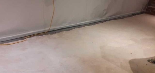 Waterproofing a wet basement in Saint-Basile-Le-Grand, Qc