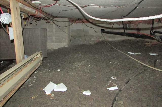 Crawl Space insulation in Austin, Qc