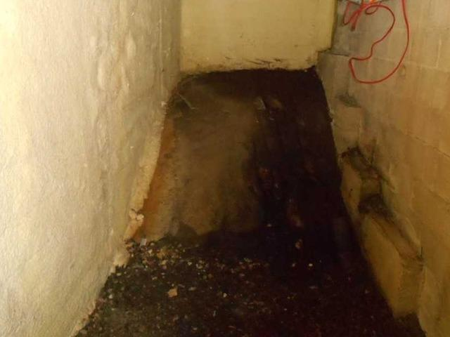 Encapsulation of a crawl space in Gore, Qc
