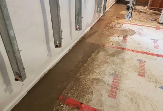 Waterproofing a wet basement in Vimont, Qc