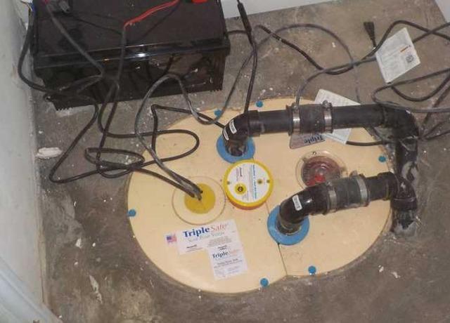 Basement waterproofing work in Oka