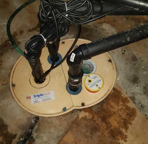 Élimination de l'infiltration d'eau, à Les Coteaux, QC - After Photo