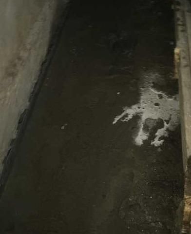 Problème important d'infiltration d'eau à Gore, Qc