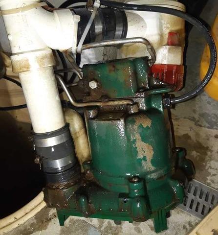Changement de pompe et ajout de batterie à Hudson Heights, Qc