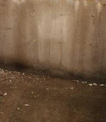 Waterproofing of a basement in Saint-Étienne-de-Bolton, Qc