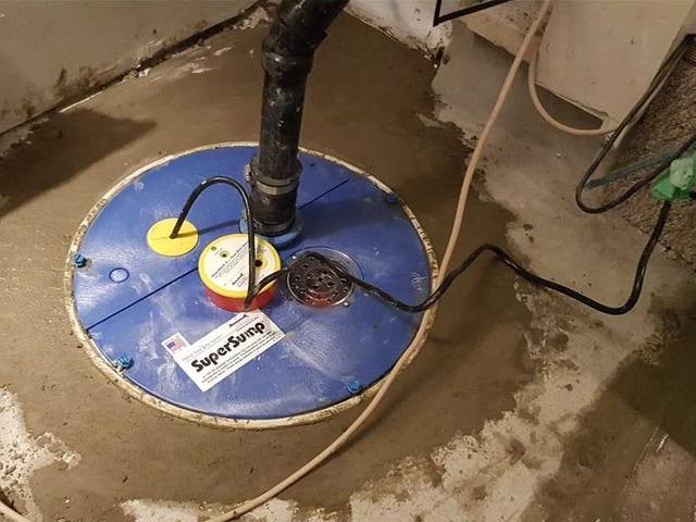 Problème d'infiltration d'eau par la fondation, à Vimont, Qc - After Photo