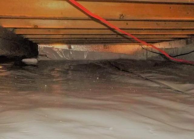 Insulate a crawl space in 3 steps in Ham-Nord, Qc