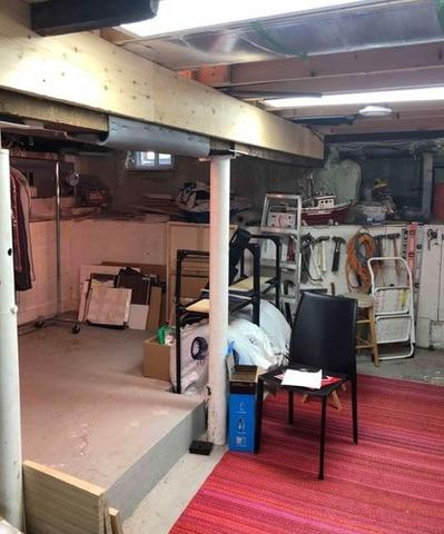 Wateproofing and finishing a basement in Montreal, Qc