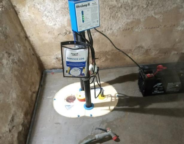 Waterproofing a basement in Saint-Apollinaire , Qc