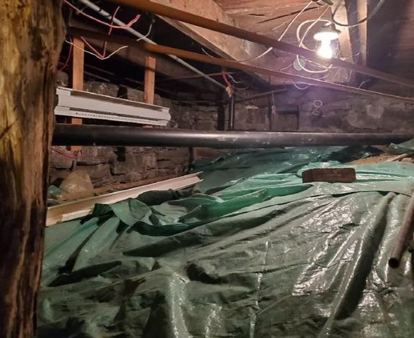 Encapsulation of a Crawl Space in Montreal, Qc