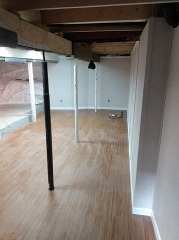 Isolation et finition d'un sous-sol à Montréal, Qc - After Photo