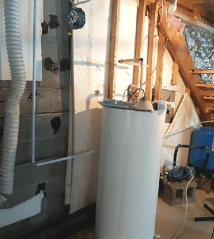 Solidify foundation walls in Sainte-Mélanie, Qc