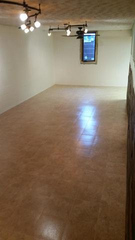 New Basement Flooring in Seneca, IL