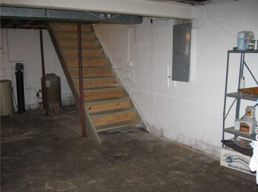 Basement in Marshalltown, IA Saved with CleanSpace, WaterGuard and TripleSafe Pump System - Before Photo