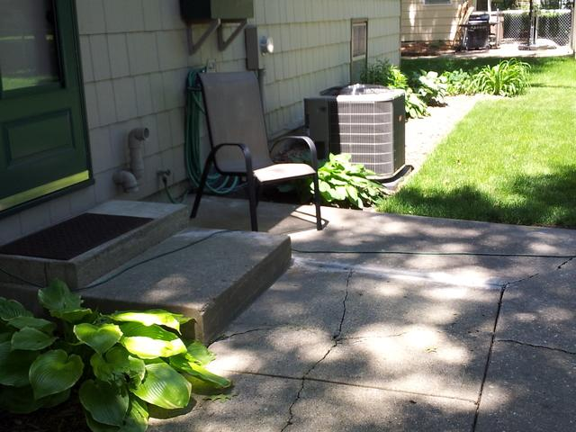 Concrete Leveling in Iowa - After Photo