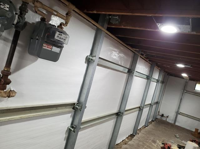 Wet and Moldy Basement Waterproofed in Des Moines, IA