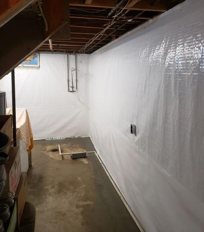 Wet Basement in Iowa Falls, IA Waterproofed