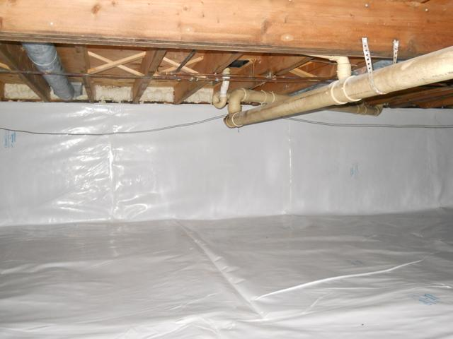 Crawl Space Repair in Iowa - After Photo