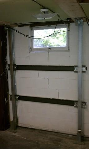 Basement Wall Repair in Iowa - After Photo