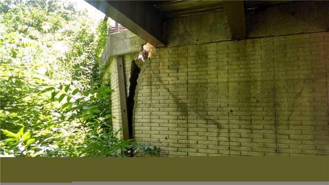 Ames, IA Street Creep Retaining Wall Repair