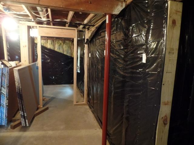 Wood Wall Foundation Repair in Johnston, IA