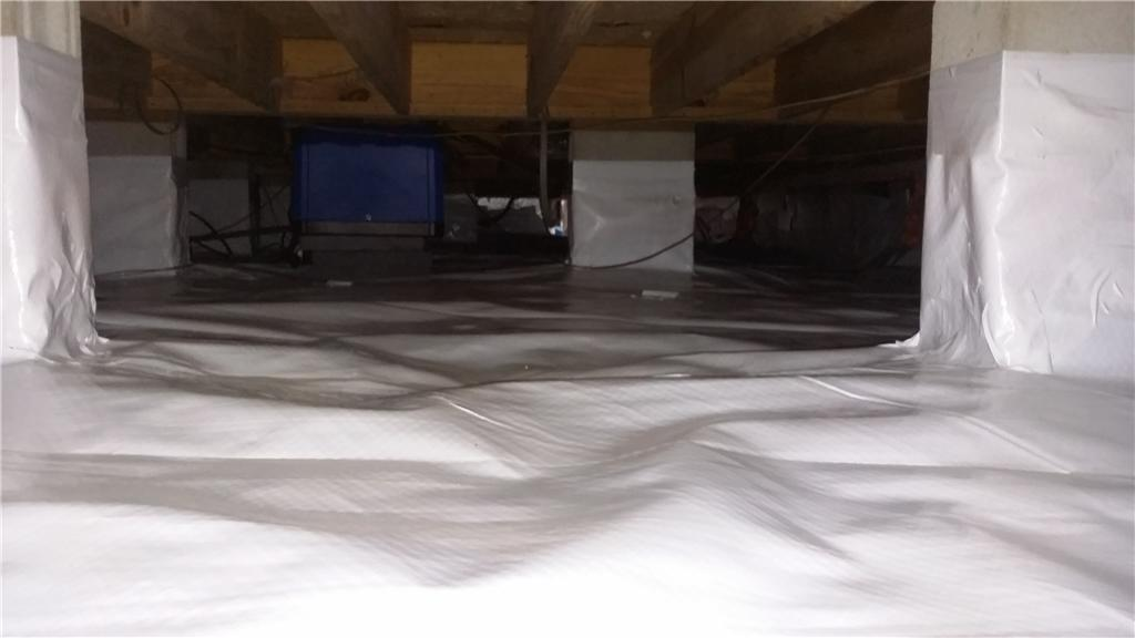 Crawl Space Encapsulation Seals out Nasty Smells in Mount Pleasant, SC - After Photo