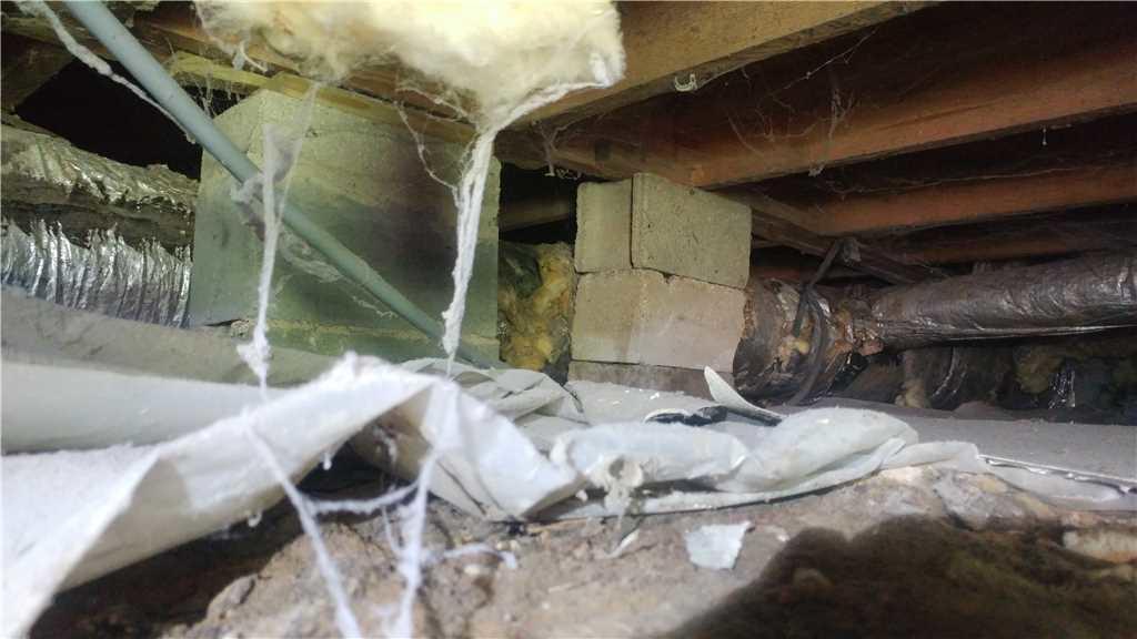 Sinking Floors Raised Back to Level in Moncks Corner, SC - Before Photo