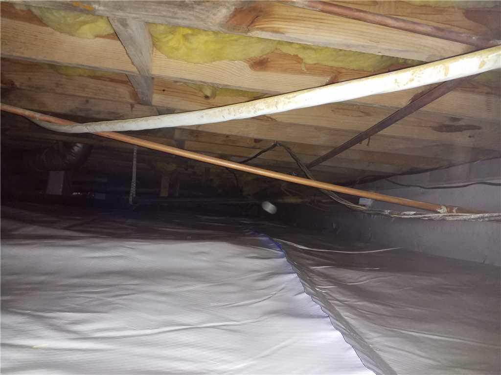 Moldy Crawl Space Transformed in Juliette, GA - After Photo