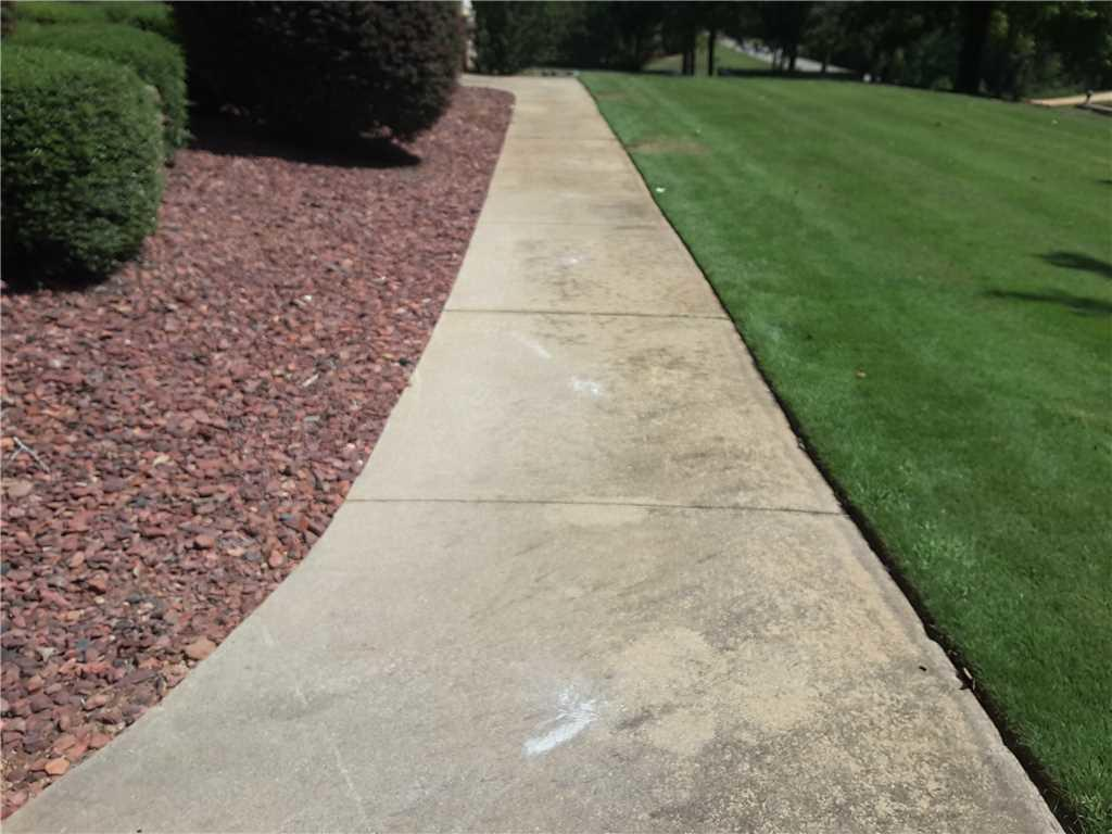 Tripping Hazard Removed from Forsyth, GA Sidewalk - After Photo