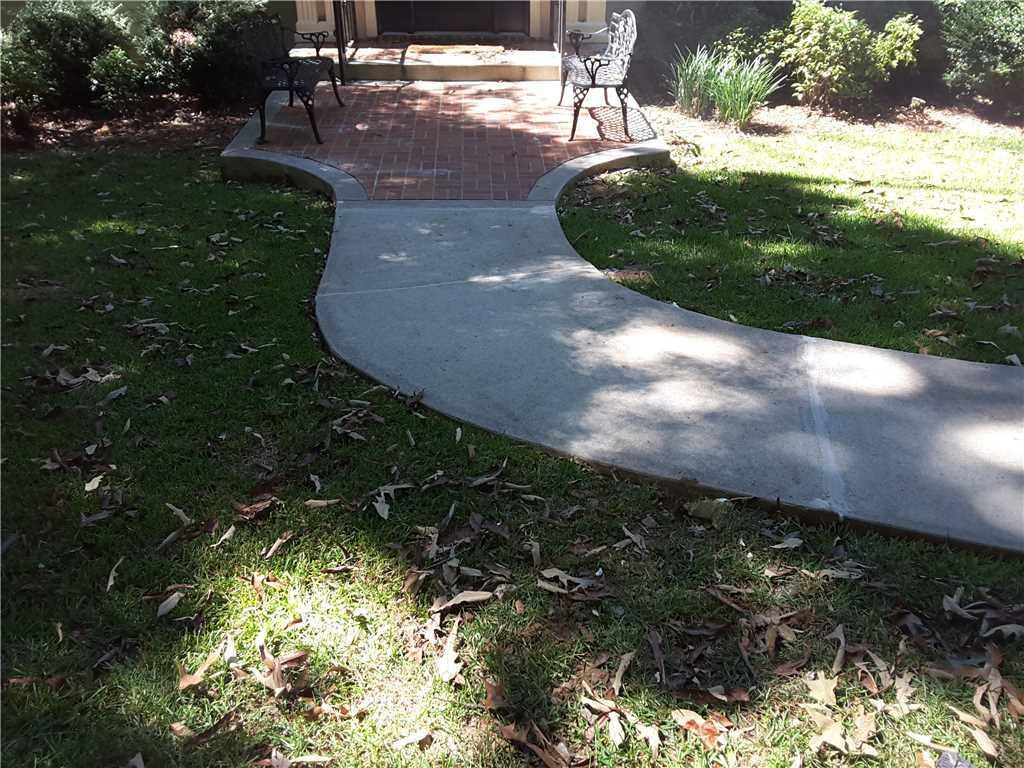 Sinking Concrete Walkway in Forsyth, GA is Fixed! - After Photo
