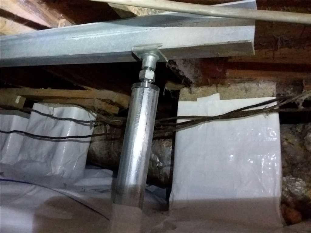 Moncks Corner, SC Crawl Space is Fixed with SmartJack System! - After Photo