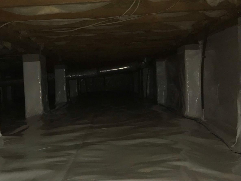 Crawlspace Encapsulation in Moncks Corner, SC - After Photo