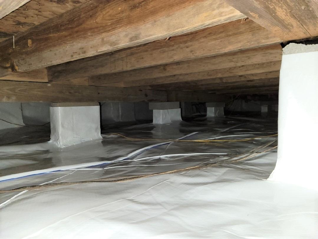 Encapsulated Crawlspace in Goose Creek, SC - After Photo