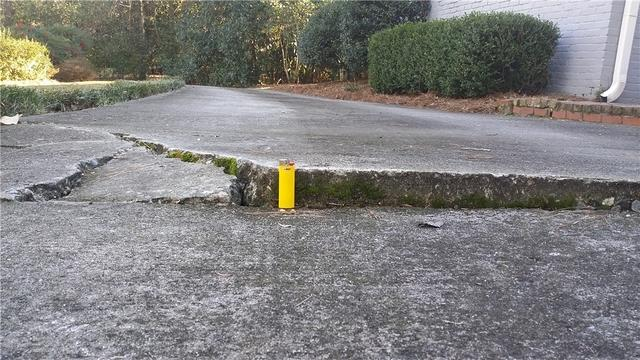 Macon Driveway Raised with PolyLevel